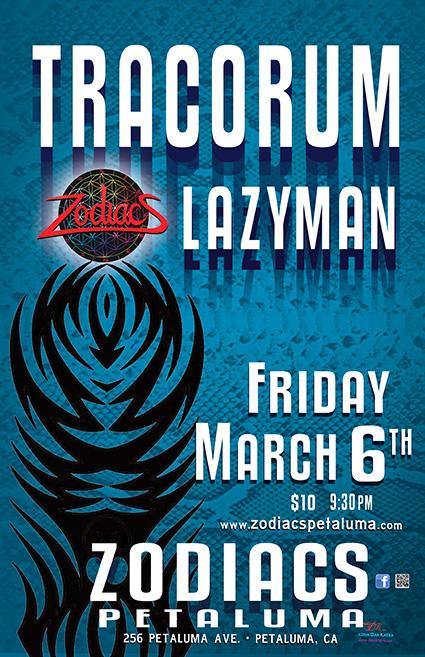 Fat Tuesday @ The Chapel / ZODIACS Petaluma Friday Mar 6th