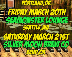 Portland/Seattle/Bend Northwest Weekend March 19-21st